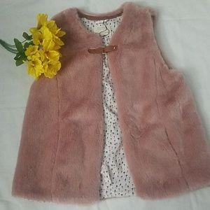 Zara girls vest